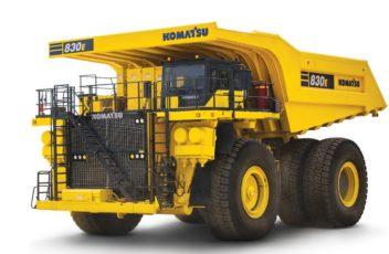 Komatsu diesel elektrisk truck 830E-5