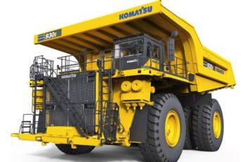 Komatsu diesel elektrisk truck 930E-5