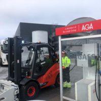 Norges første truck for biogass