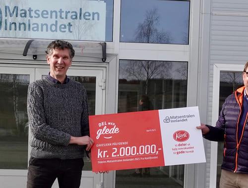 Klart for Matsentralen Innlandet: Kan redde 250 tonn mat i året