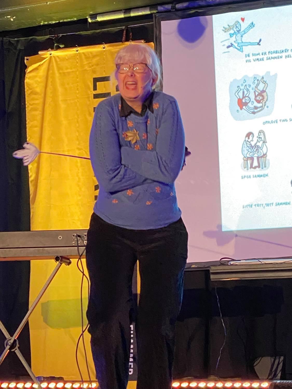 Anna Fiske på KOMMA 2020