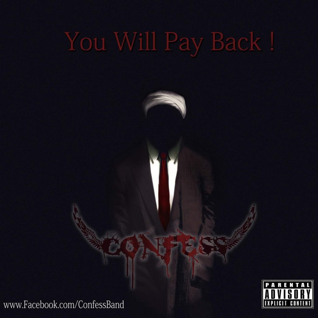 Coveret til albumet You will pay back!