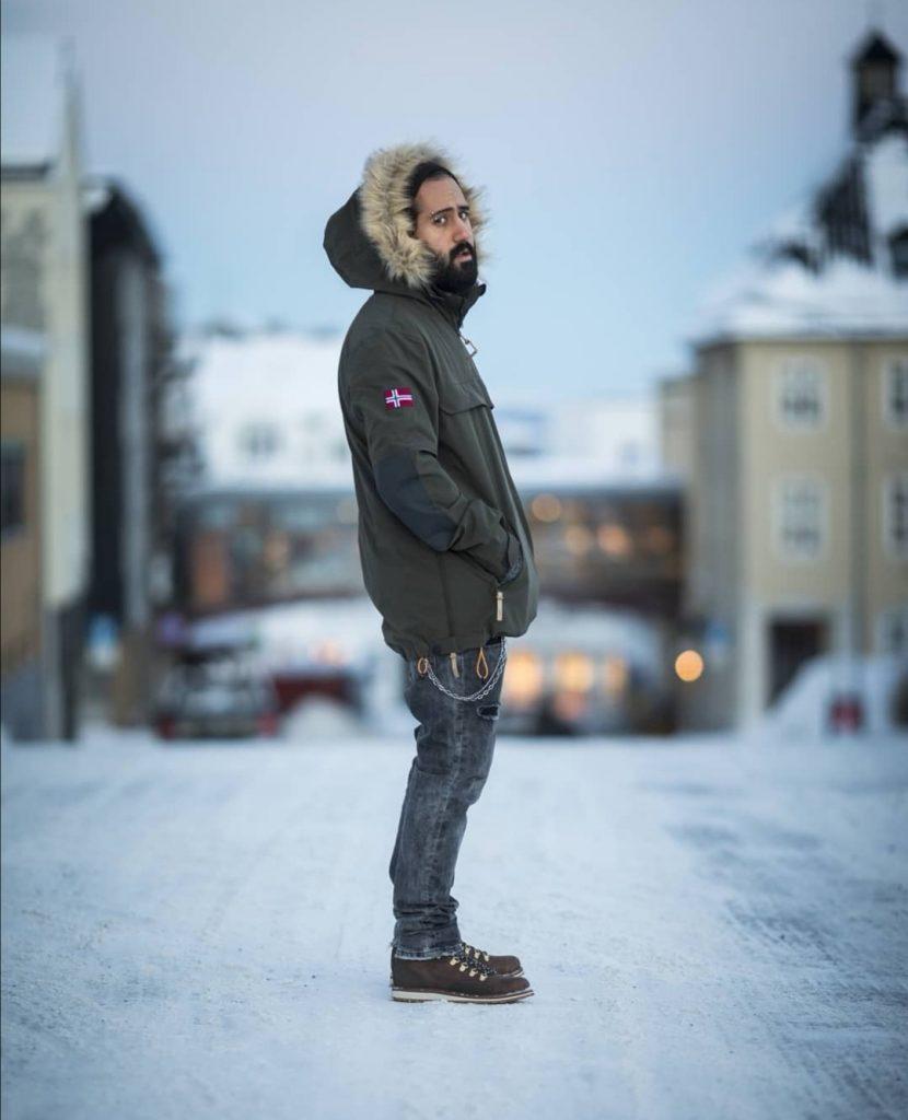 Nikan i Confess fotografert i Harstad
