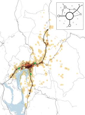 Alternativ 1: Videreføring av dagens kommuneplaner