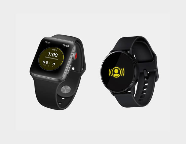 artis technogym bike smart watch