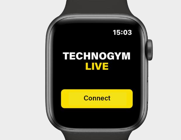 technogym myrun apple watch