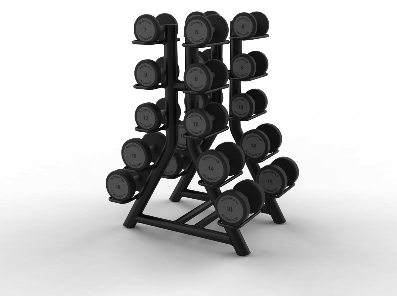 Vertical Dumbbell Rack – vertikal hantelstativ