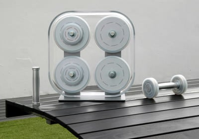 Wellness Rack – Hantelsett