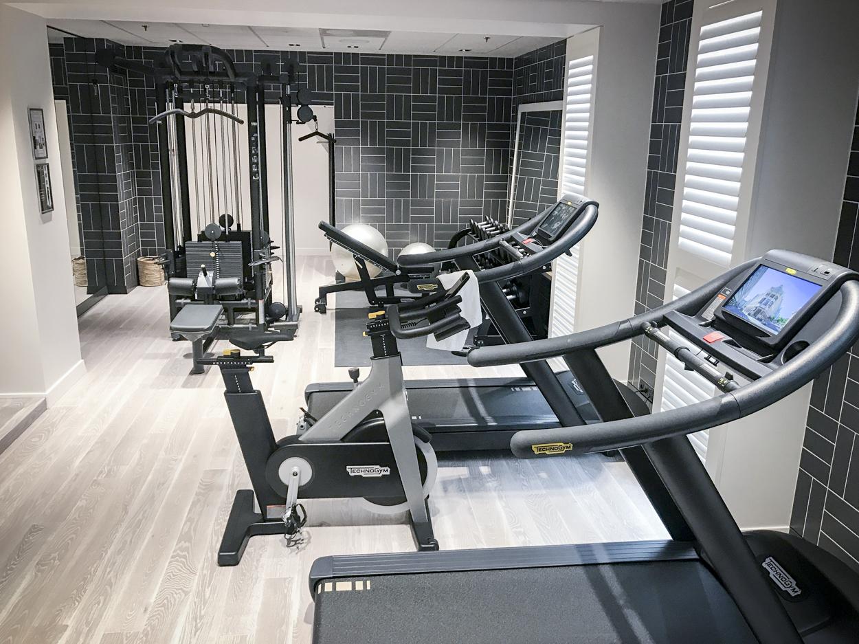 treningsrom hotel continental