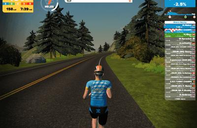 MYRUN er nå integrert med løpeplattformen ZWIFT
