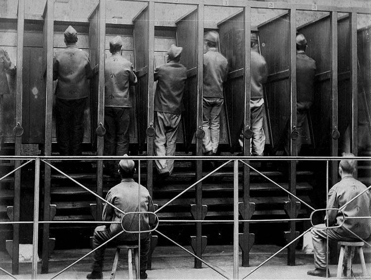 Treadmill / Tredemølle oppfunnet av Sir William Cubitt, brukt som torturredskap i Engelske fengsler på 1800 - tallet