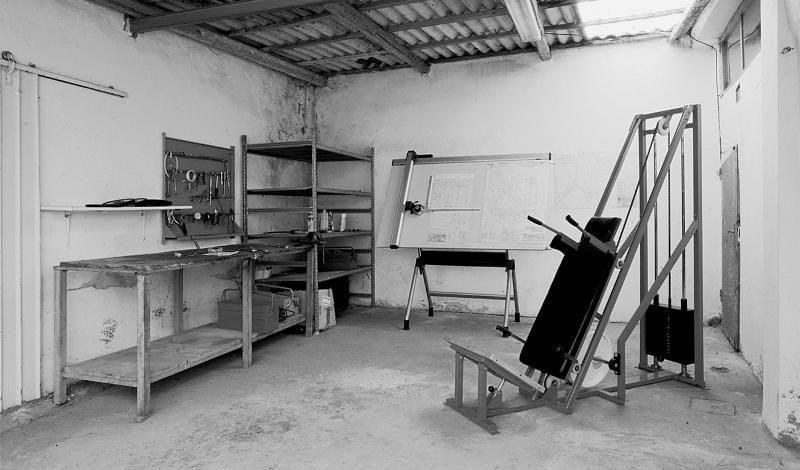 Technogyms første treningsmaskin