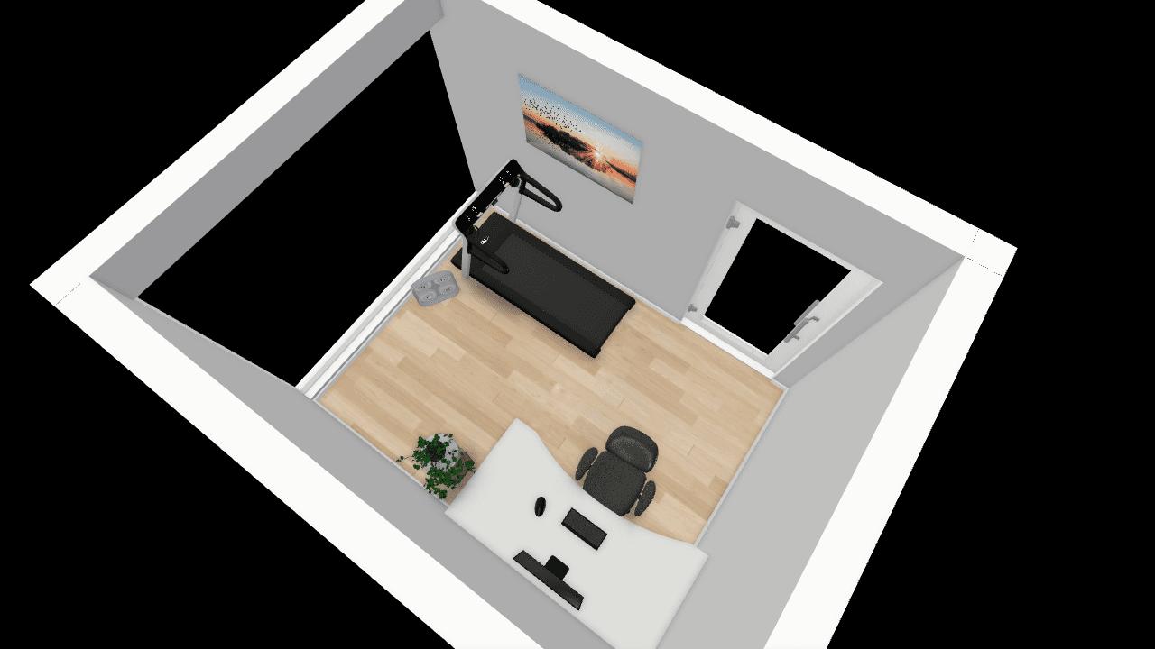 treningsrom hjemme, trimrom, hjemmegym 10 kvadratmeter