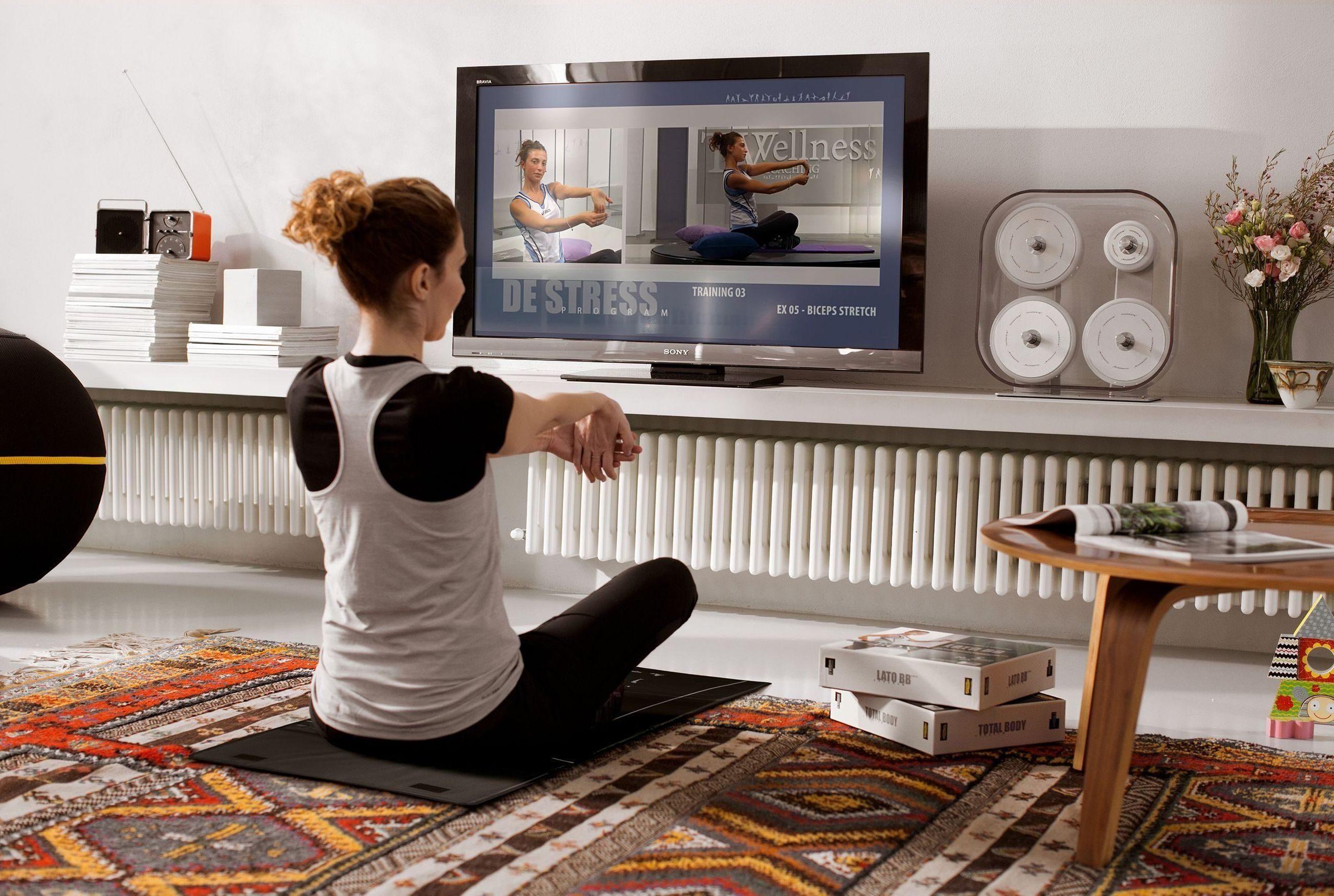 Et hjemmegym kan være så mangt. Både et eget dedikert rom, men også treningsutstyr i stuen.