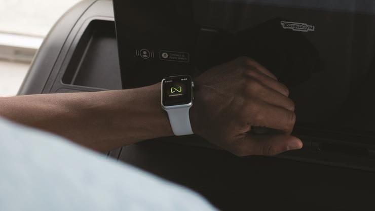 Appel watch technogym