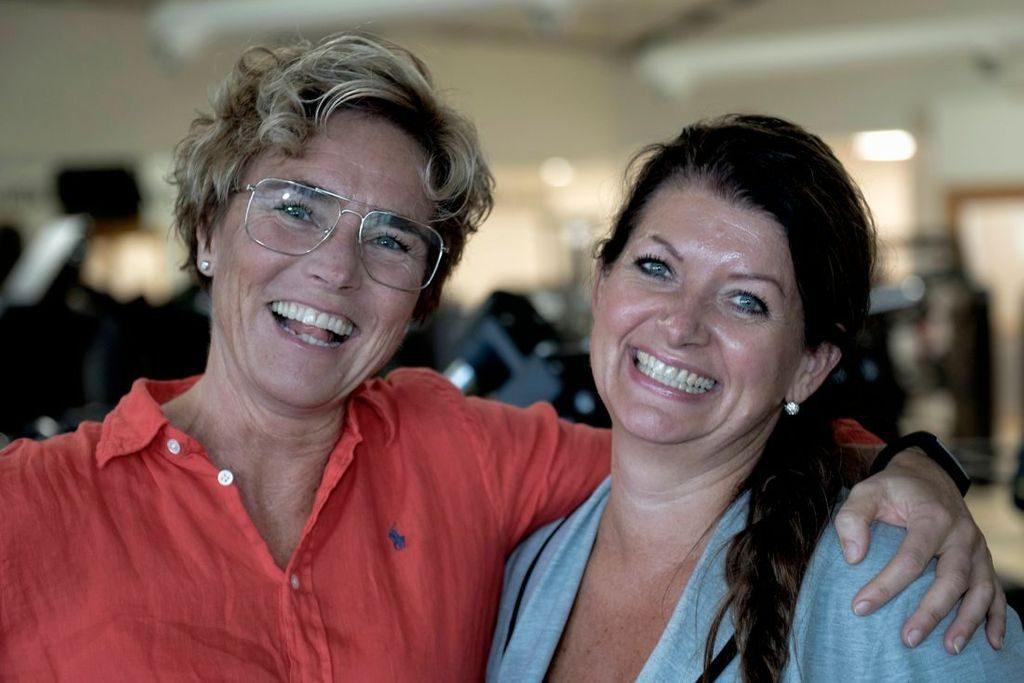 Marianne Løvli og Siv Nilsrud, Daglig leder og eiere Kråkerøy Trening