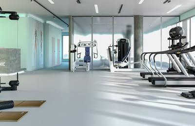 Treningsutstyr for helseforetak