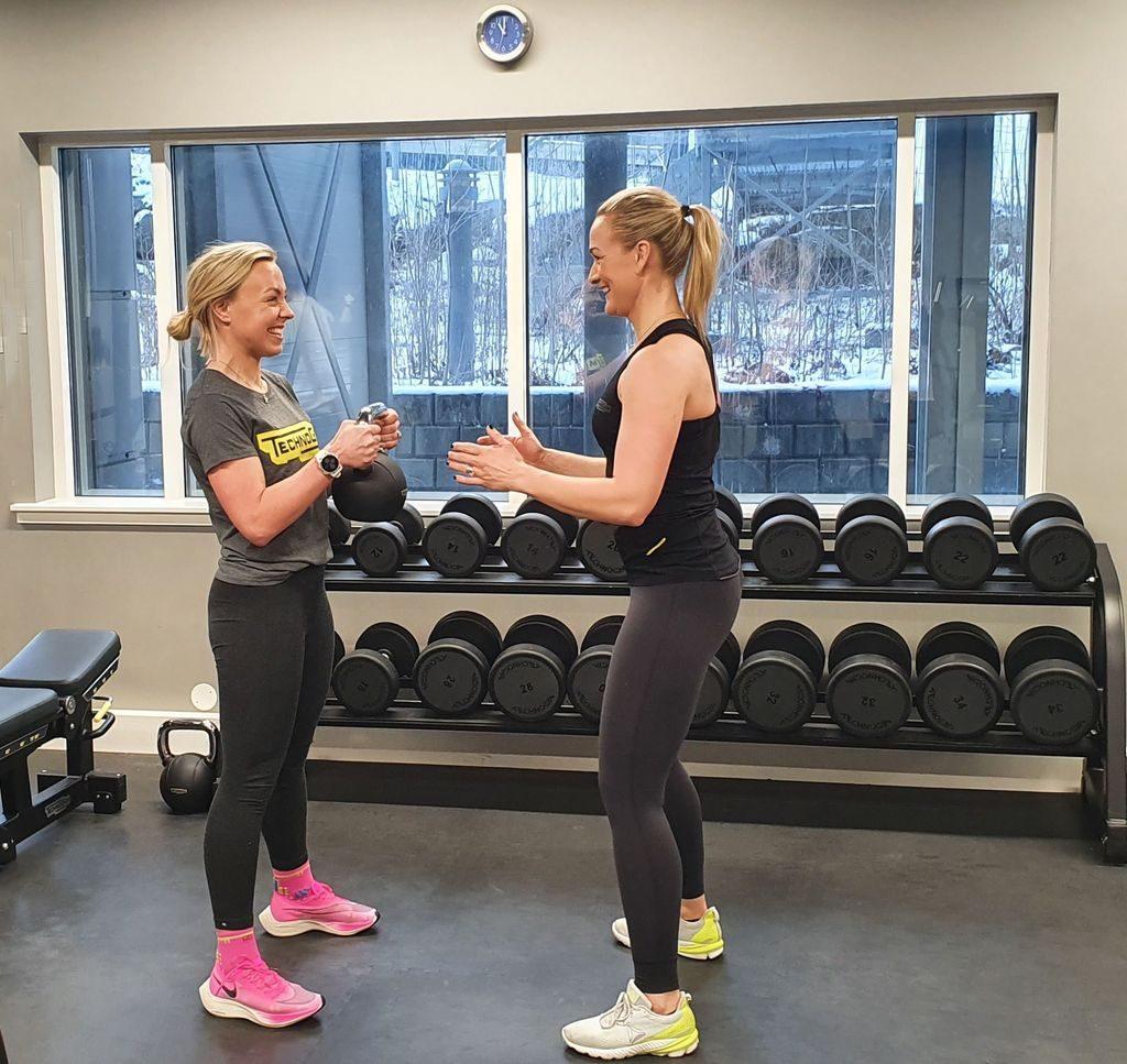 Valentines trening squat