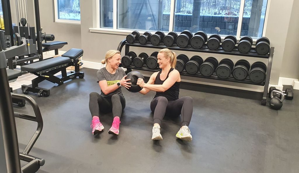 Side rotasjon valentinesday trening
