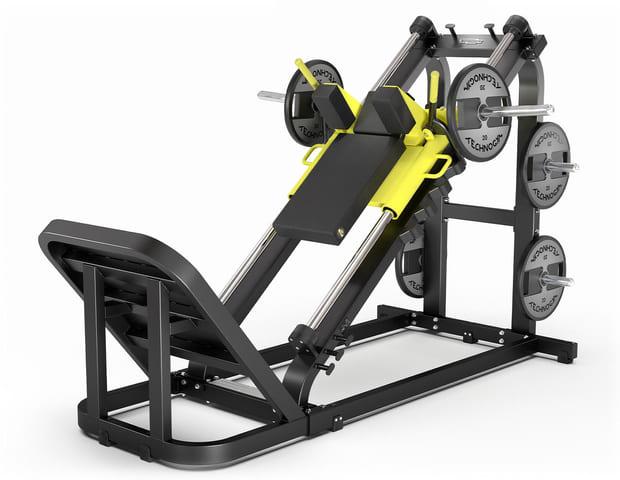 Pure hack squat rumpe og lår trening