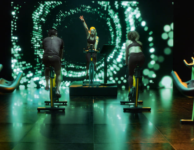 Free beat class group cyle technogym spinning