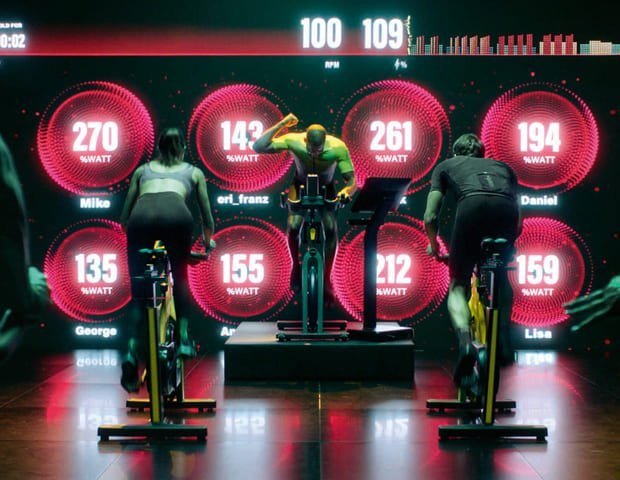 Group Cycle Technogym peak class