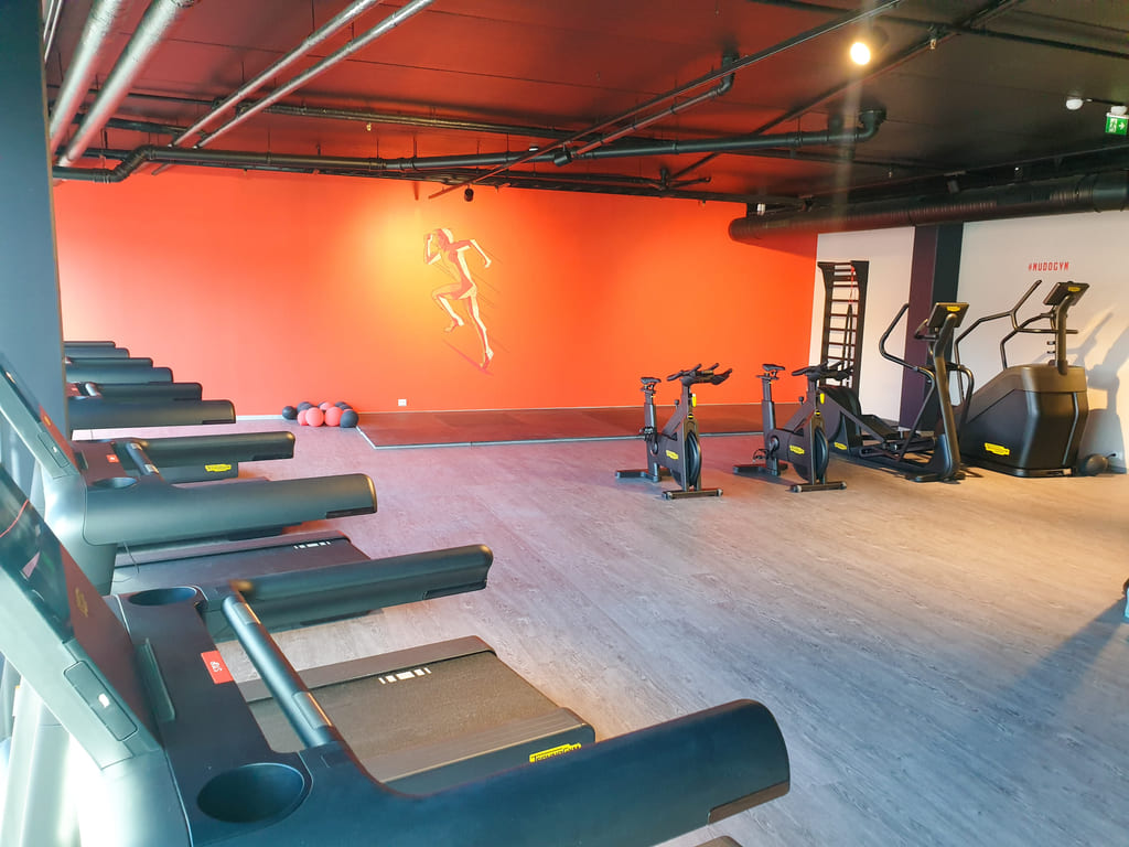 mudo gym kilden treningssenter technogym