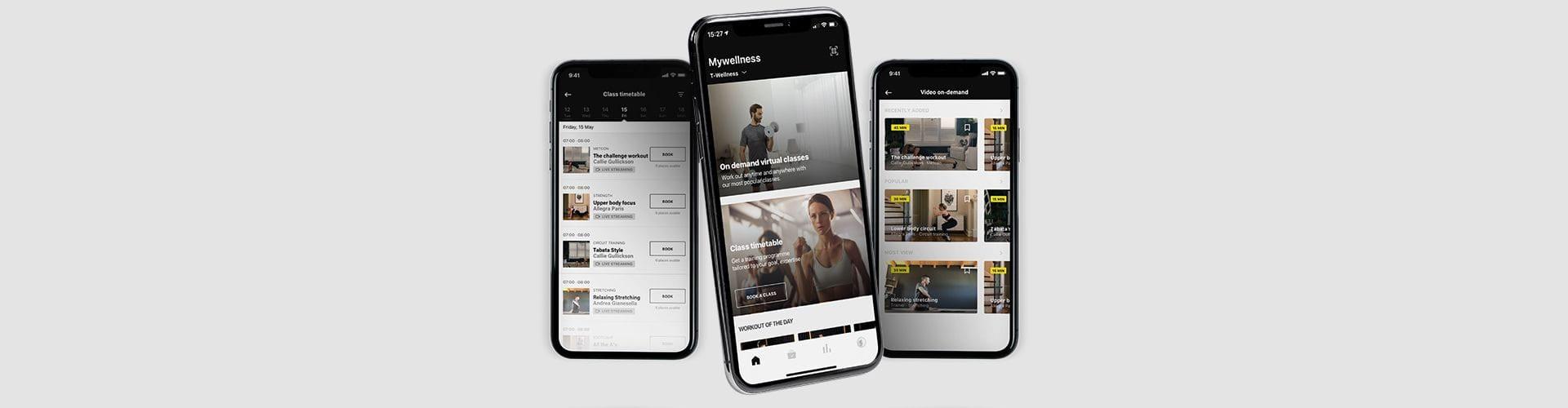 En digital mobil träningsupplevelse