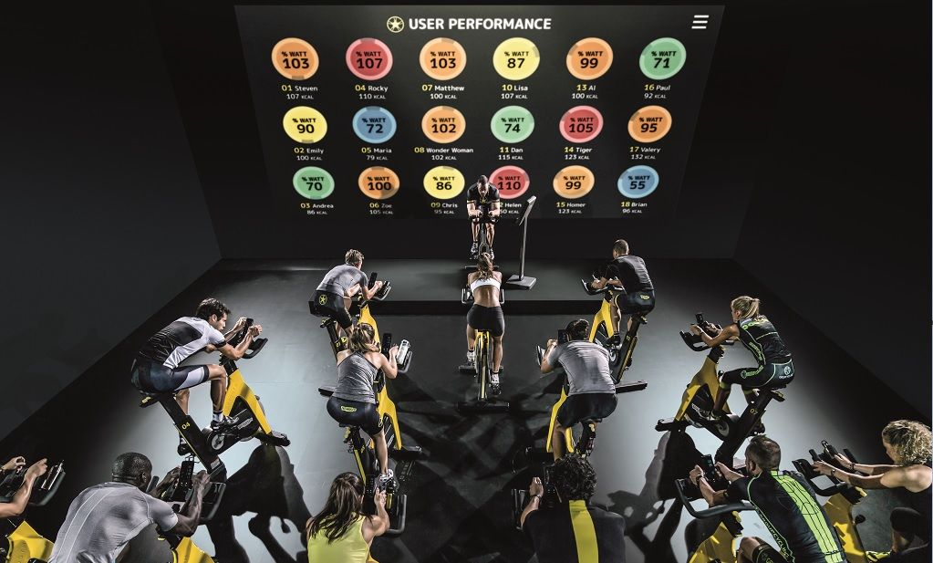 Technogym Group Cycle Connect 7