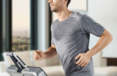 Få bättre hälsa med träning på löpband