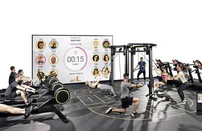 TEAMBEATS™- system för pulsbaserad gruppträning