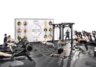 TEAMBEATS – format för pulsbevakad gruppträning