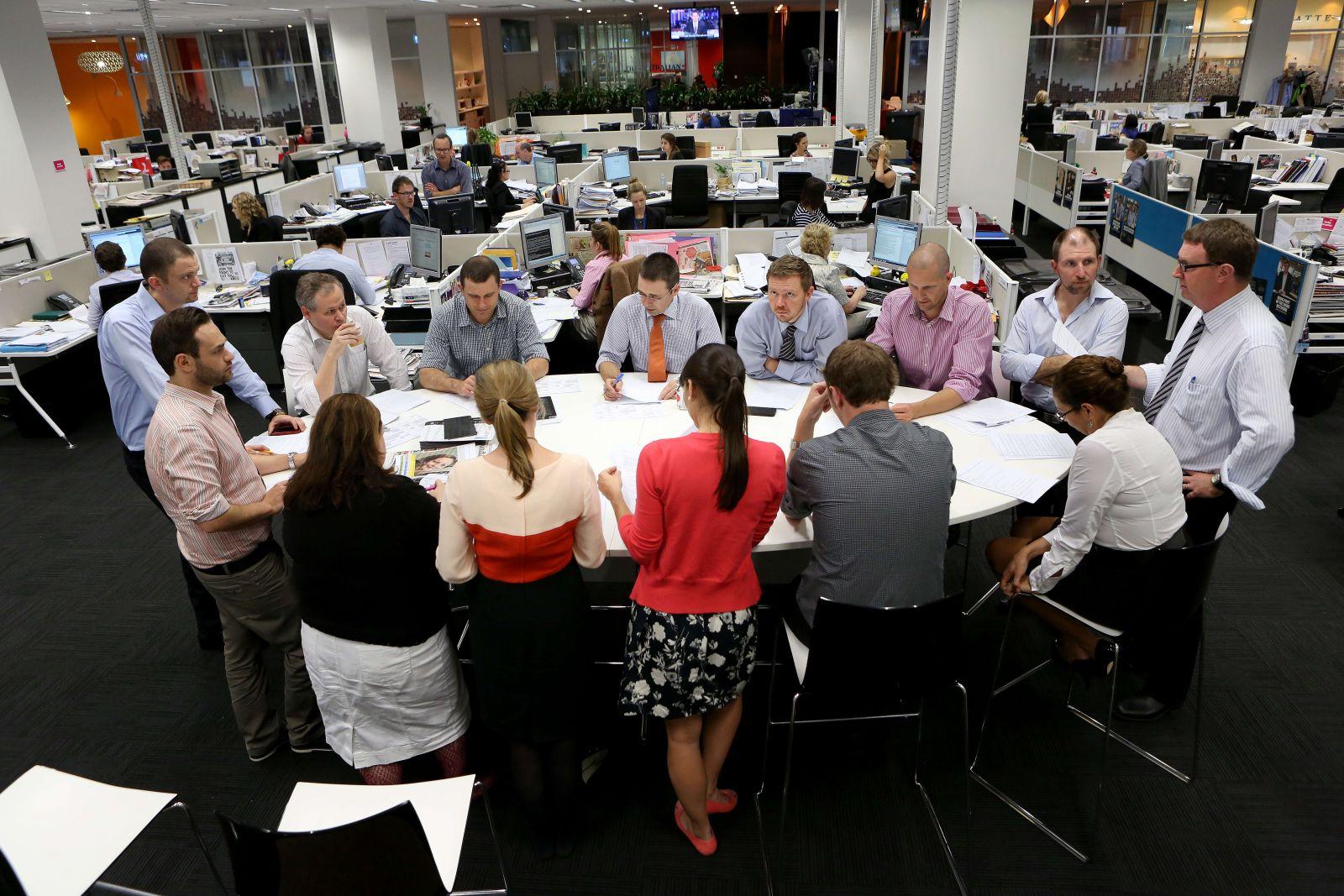 Företagsgym – Newscorp (Australien)