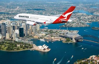 Företagsgym – Quantas huvudkontor (Australien)