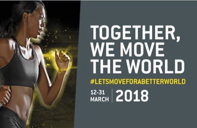 Let's Move For a Better World 2018