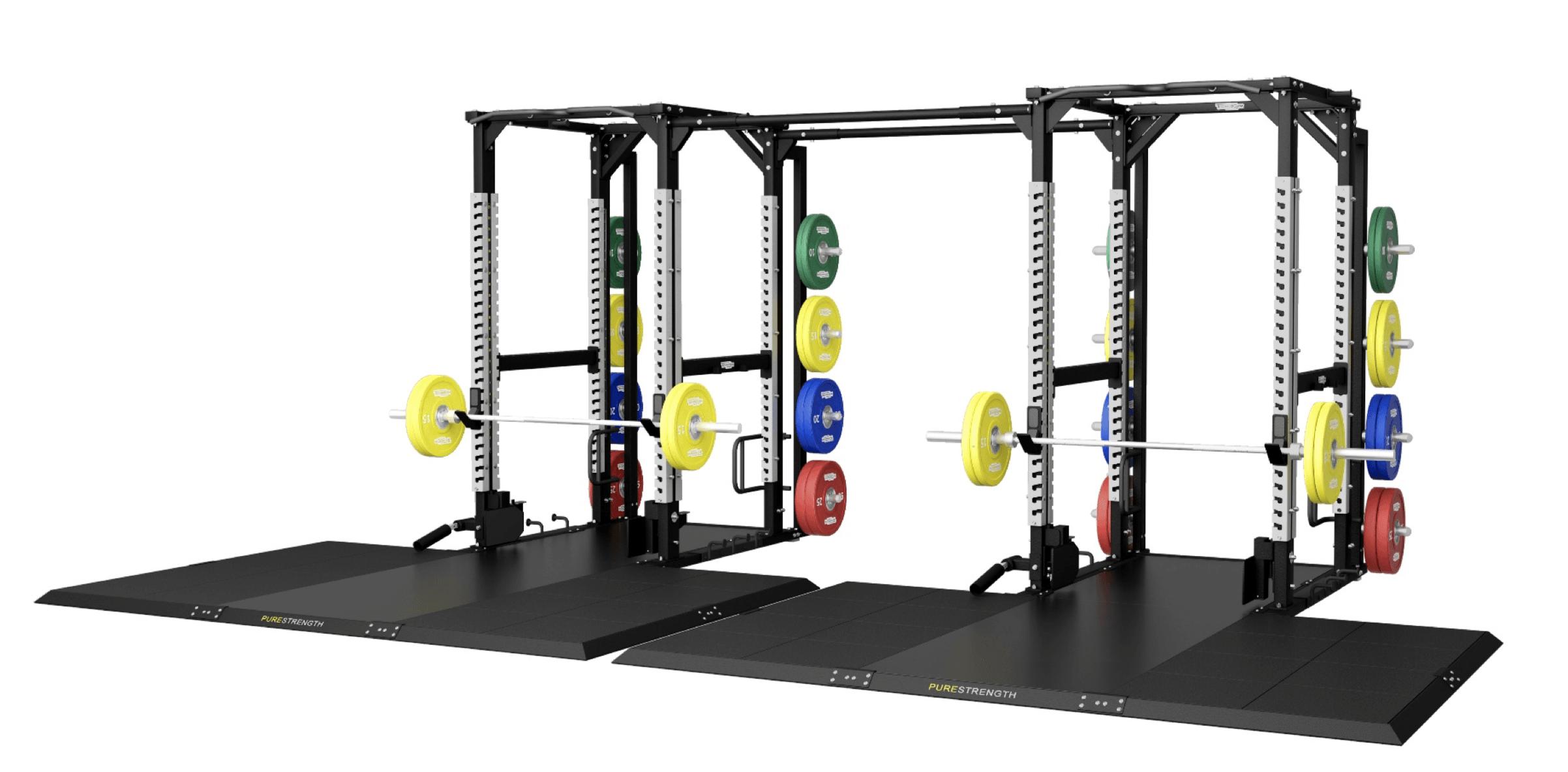 Lyftarplattform för Half Rack och Power Rack.