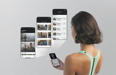 Erbjud online träning via Mywellness app 5.0