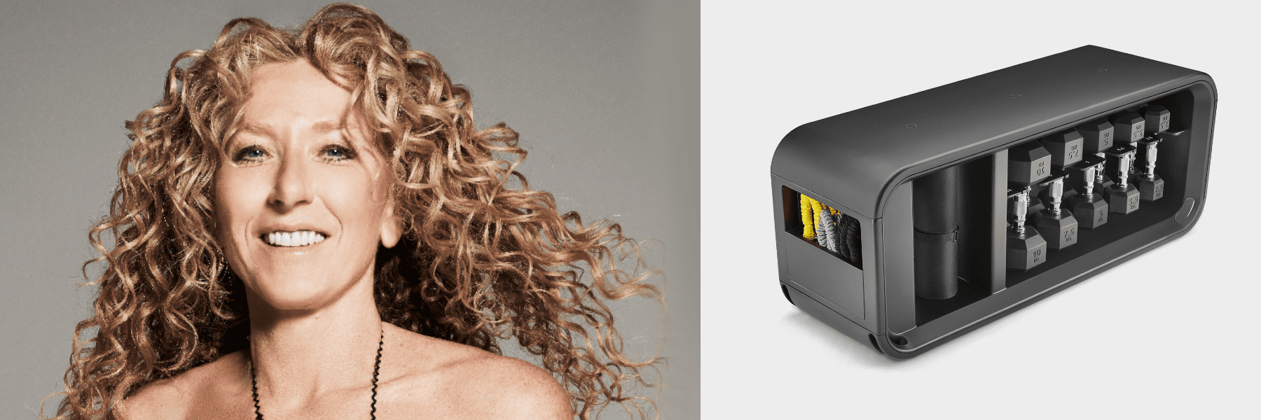 Inredningsdesignern Kelly Hoppen kan inte leva utan sin Technogym Bench