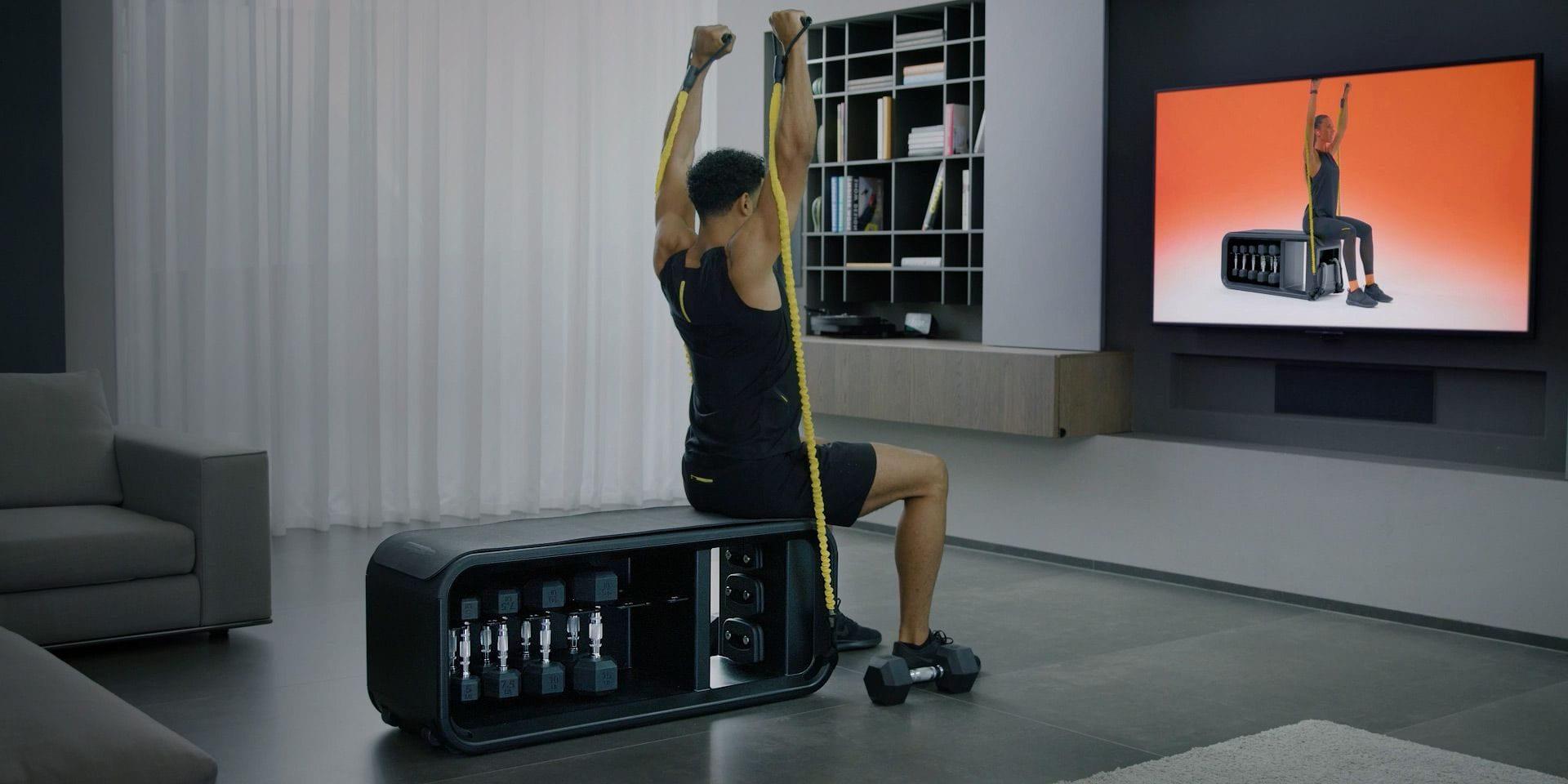 Komplett och kompakt funktionell träningsstation – Technogym Bench
