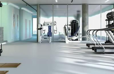 Träningsutrustning för hälso- och rehabkliniker