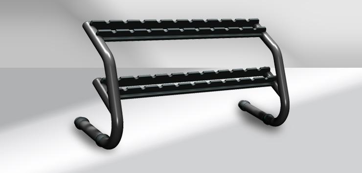 Chrome Dumbbell Rack käsipainoteline
