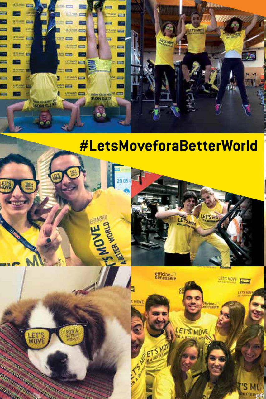 Let´s Move For A Better World 2016