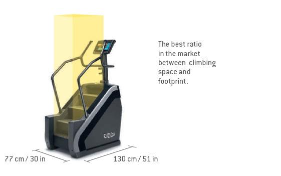 Technogym_Climb_Excite_foorprint