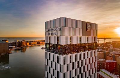 Rennon tyylikäs Clarion Hotel panostaa hotelliasiakkaiden hyvinvointiin