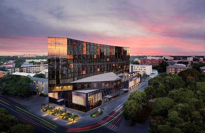 Kuntosali hotellin tyyliin – Hilton Tallinn Park