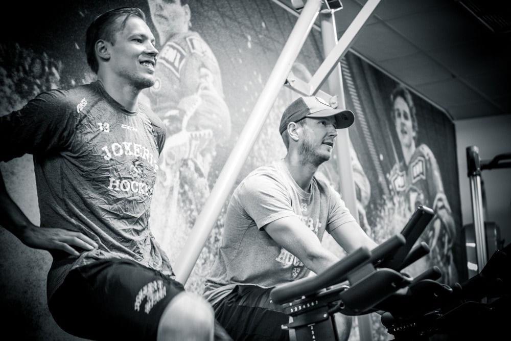 Leijonien MM-joukkue valmistautuu kisoihin 2018
