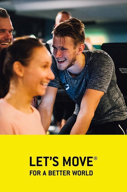 """""""Let's Move for a Better World"""" kampanjoi terveellisten elämäntapojen puolesta"""