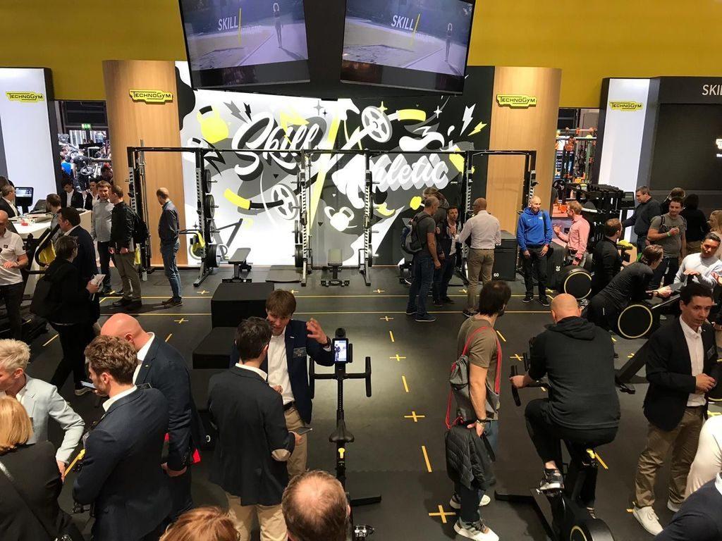 Technogym club 4.0 boutique konseptit esillä Fibo 2019 messuilla
