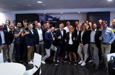 Technogymin perustaja Nerio Alessandri Ruotsissa ensimmäistä kertaa