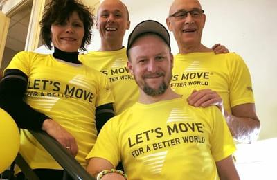 Uusia ja sitoutuneita asiakkaita Let's Move -kampanjalla